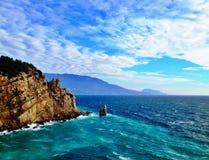 黑海 免版税图库摄影
