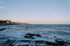 黑海1 免版税库存照片