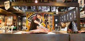 黑潮鱼市,和歌山,神西,日本 库存图片