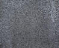 黑灰色皮革纹理自然本底 库存照片
