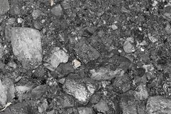 黑煤炭背景  免版税图库摄影
