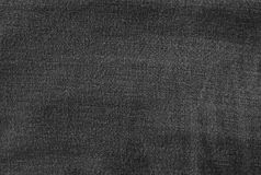 黑牛仔布吉恩纹理的背景样式 免版税库存图片