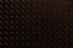 黑牵引板材背景 免版税库存照片