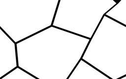 黑白不规则的马赛克模板 库存照片