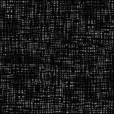 黑白光点图形,纺织品背景,棉花无缝的纹理 织品纺织材料 旧布农村背景 库存例证