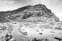 黑白好望角的风景 免版税图库摄影