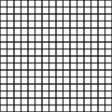 黑白弯曲的无缝的样式 图库摄影