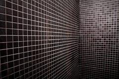 黑白方形背景 库存照片