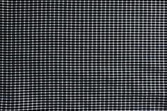 黑白方格的织品的图象背景和创造性的 免版税库存图片