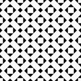 黑白无缝的装饰元素 库存照片