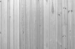 黑白木板条墙壁纹理背景 库存照片