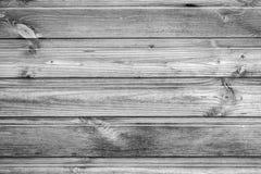 黑白概略的木的纹理 图库摄影