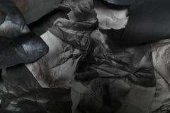 黑白纸被撕毁的张单色背景  免版税库存图片