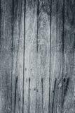 黑白老木桌表面顶视图自然的样式 免版税库存照片