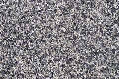 黑白花岗岩 库存图片