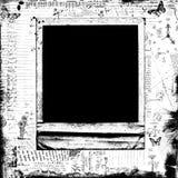 黑白装饰偏正片框架背景 库存照片