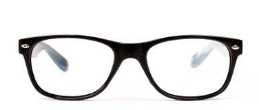 黑眼睛玻璃现代对 免版税库存照片