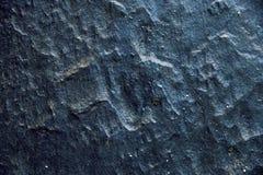 黑石纹理和背景 免版税库存照片
