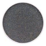 黑磁性沙子样品 图库摄影