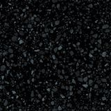 黑磨石子地地板无缝的纹理 现实传染媒介拼花地板样式 皇族释放例证
