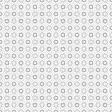 黑线与星的无缝的样式 免版税库存照片