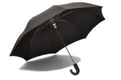 黑色伞 免版税库存照片