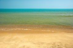 黑色保加利亚海岸 库存图片