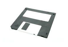 黑色光盘磁盘 免版税库存照片