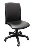黑色办公室椅子 库存照片