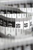 黑色厘米白色 免版税库存照片