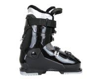 黑色启动滑雪 免版税库存照片