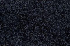 黑色地毯纹理 图库摄影