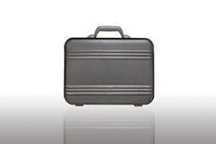 黑色塑料工具箱 免版税库存照片