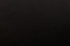 黑色塑料纹理或背景 免版税库存照片