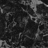 黑色大理石纹理背景(高分辨率扫描) 免版税库存照片