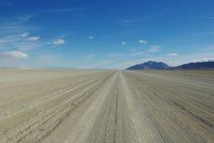 黑色岩石沙漠Playa,大开,内华达 库存照片