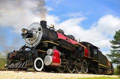 黑色引擎红色 免版税图库摄影