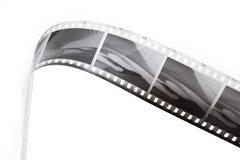 黑色影片主街上白色 免版税图库摄影