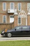 黑色总统大型高级轿车 免版税库存照片