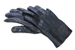 黑色手套 免版税库存照片