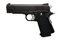黑色手枪 库存照片