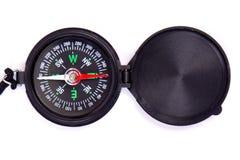 黑色指南针 免版税图库摄影