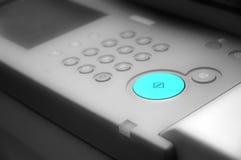 黑色按钮指令选材台白色 库存照片