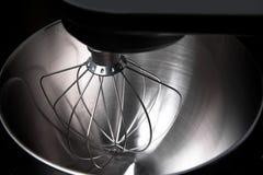 黑色接近的搅拌机银 图库摄影
