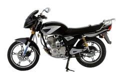 黑色摩托车 库存图片