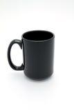 黑色杯子 库存图片