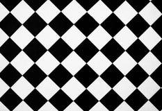 黑色格子白色 免版税图库摄影