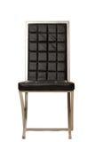 黑色椅子用餐 免版税库存照片