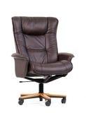 黑色椅子豪华办公室 免版税库存照片