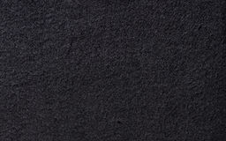 黑色毛毡纹理 免版税库存图片